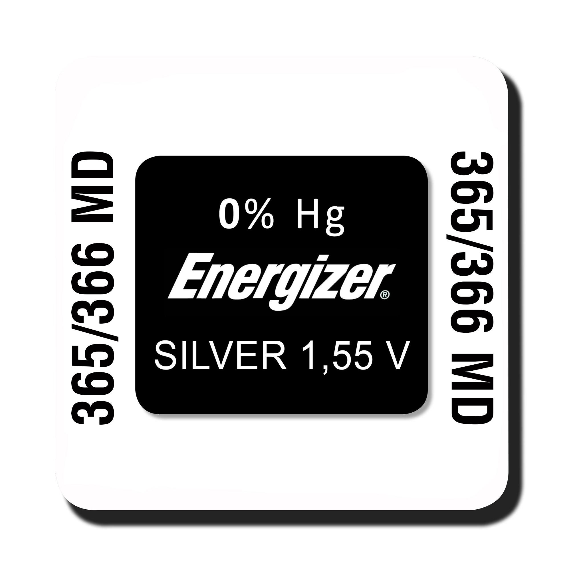 Energizer 365/366 knoopcel