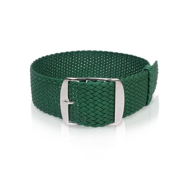 Perlonband grün, 18mm