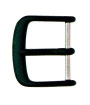Dornschließe Edelstahl 10mm schwarz matt lackiert