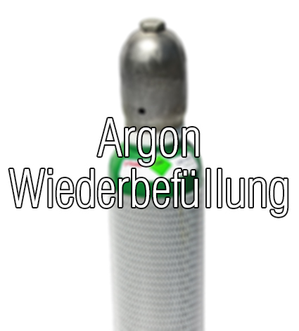 Argon 4.6 Füllung