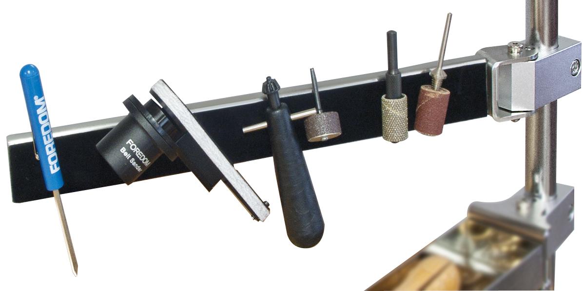 Haltearm mit Magnetleisten