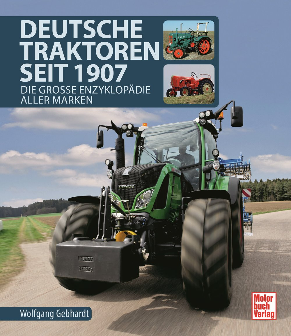 Boek: Deutsche Traktoren seit 1907