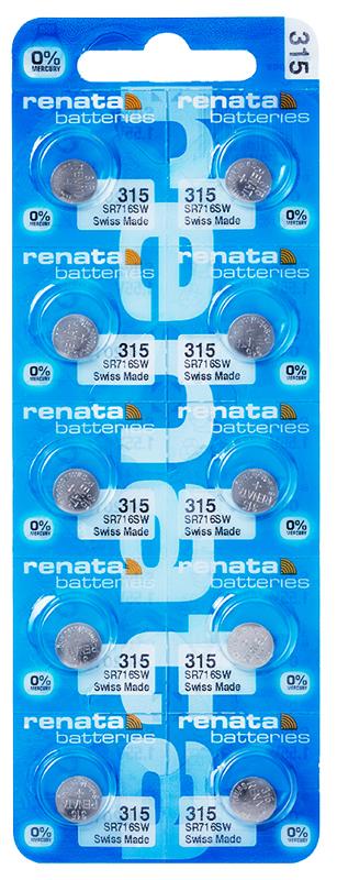 Renata 315 knoopcel multipack