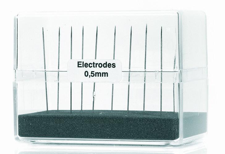 Spezial-Elektroden Ø 0,6 mm für PUK