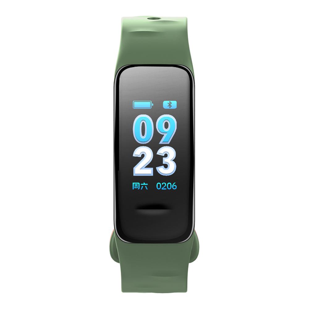 Fitness Tracker, grün, mit Farbdisplay