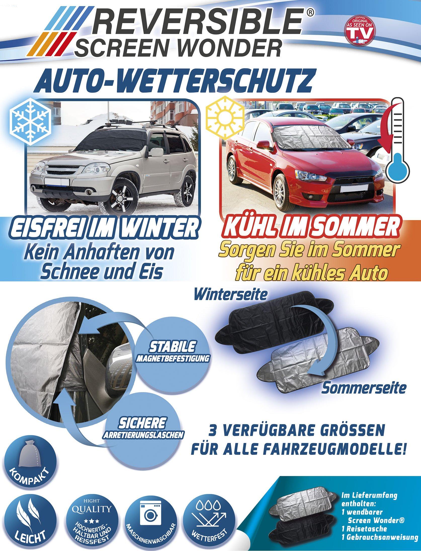 Autohoes ijsvrij in de winter - koel in de zomer - maat 130x100cm