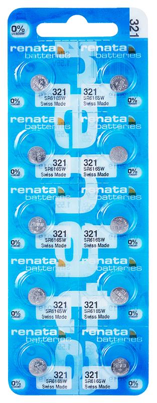 Renata 321 knoopcel multipack
