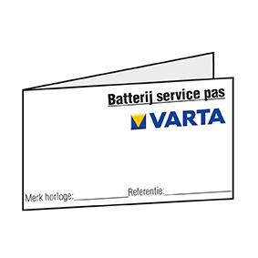 Batterie-Pässe niederländisch, blanko, Inhalt ca. 250 Stk.