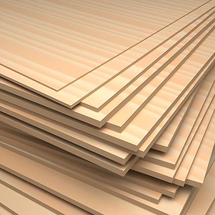 Birkensperrholz Zuschnitte 10x10cm, 3mm