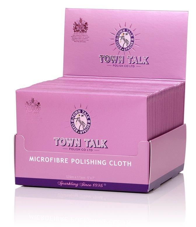 Mr Town Talk Mikrofaser Poliertuch 12,5cm x 17,5cm