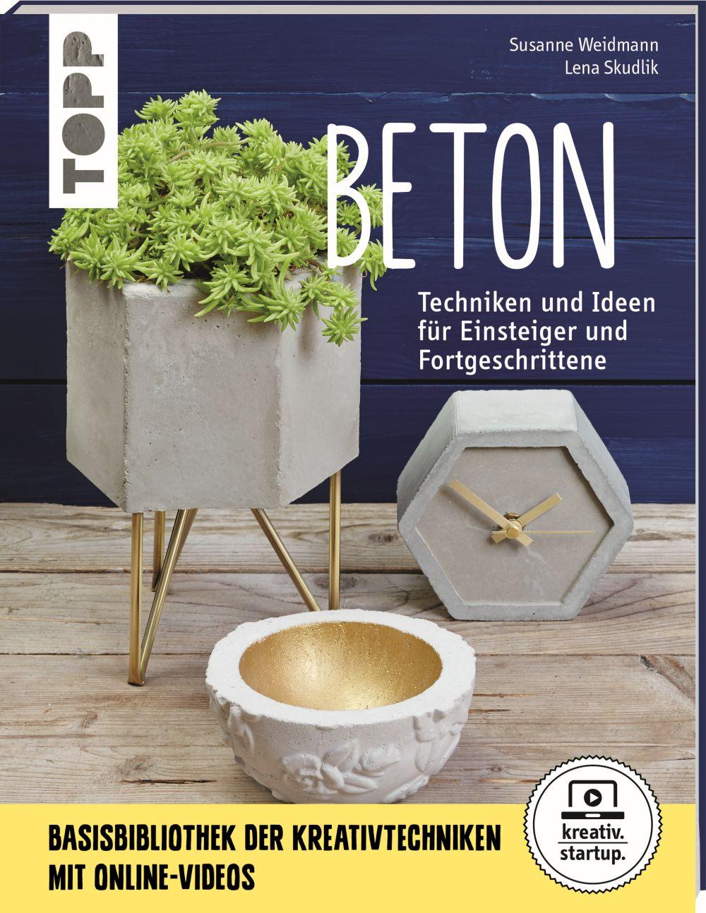 Buch Beton Techniken & Ideen für Einsteiger und Fortgeschrittene