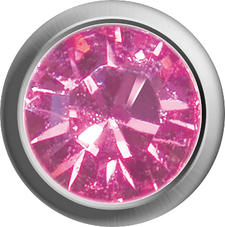 Erstohrstecker Easy Piercy Classic 2,95 mm weiß Rosé Mini