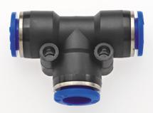 Schnellsteck-Verteiler mit 3 Abgängen für Schlauch-Außen-Ø 6 mm