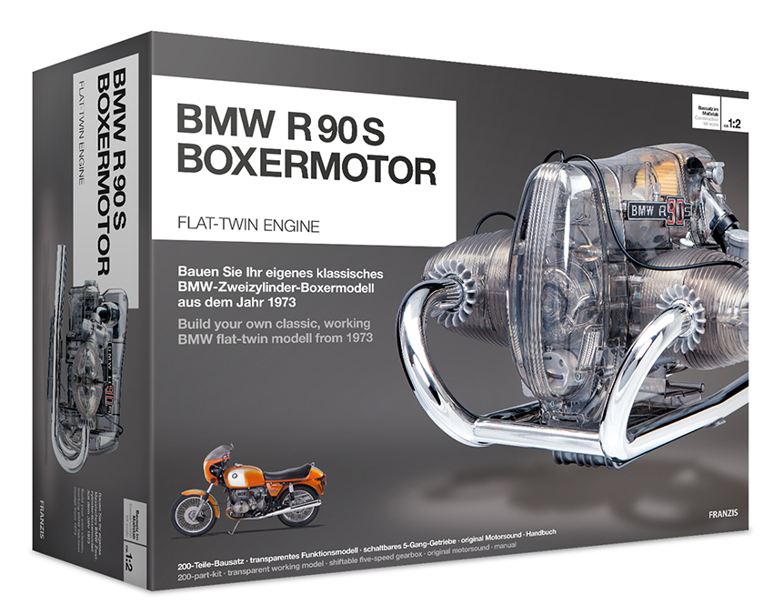 Bausatz BMW R90S Boxermotor