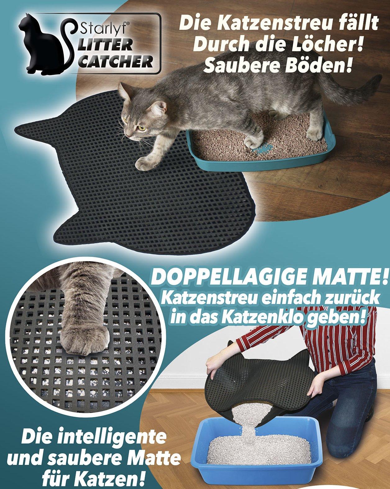 Katzenmatte - so bleibt's sauber!