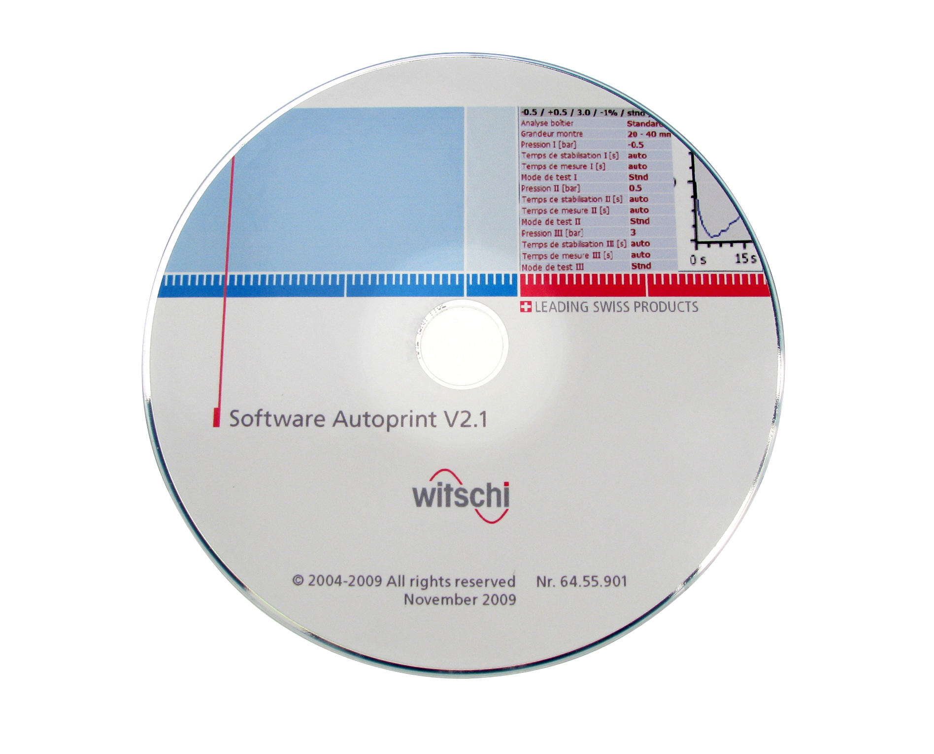 PC-software Autoprint op cd-rom