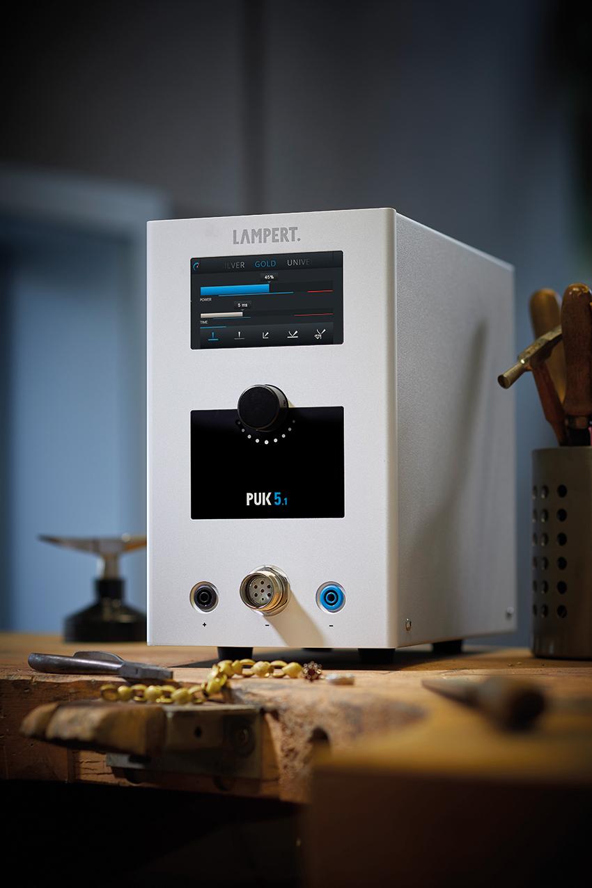 Punktschweißgerät PUK 5.1 mit Schweißmikroskop SM5