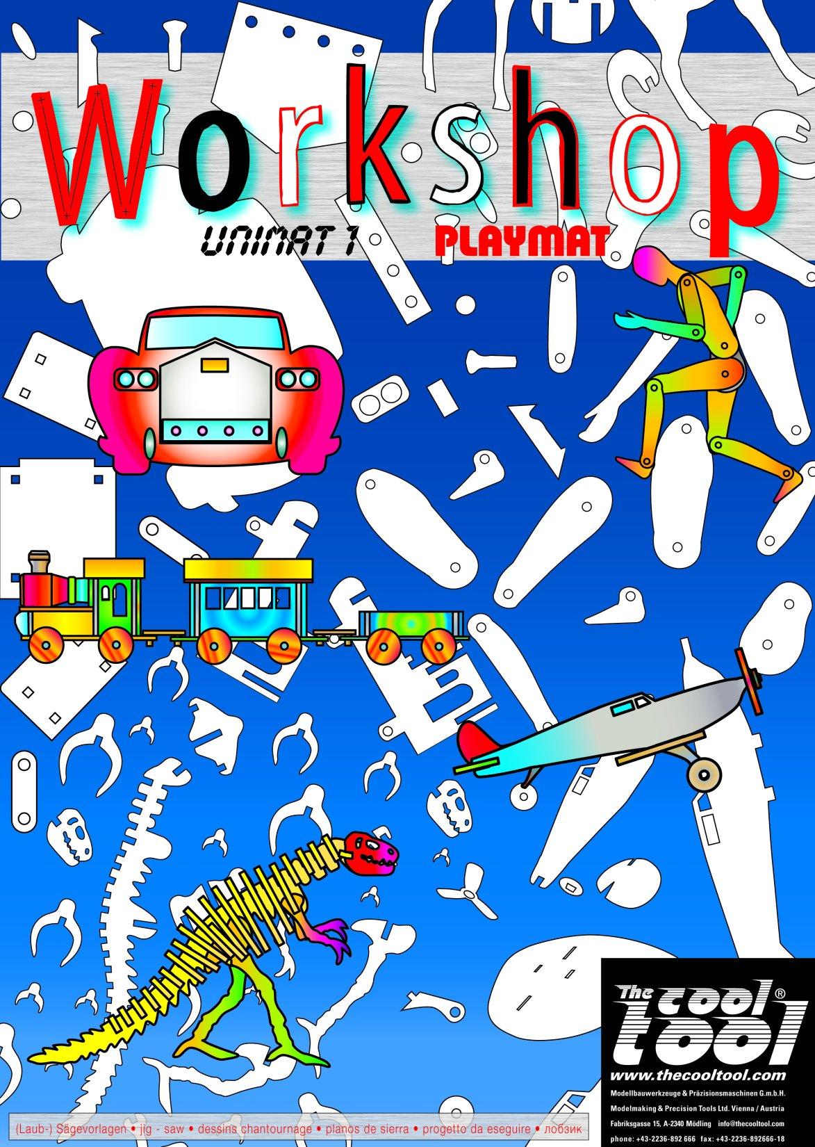 PLAYMAKE und UNIMAT Workshop-Buch