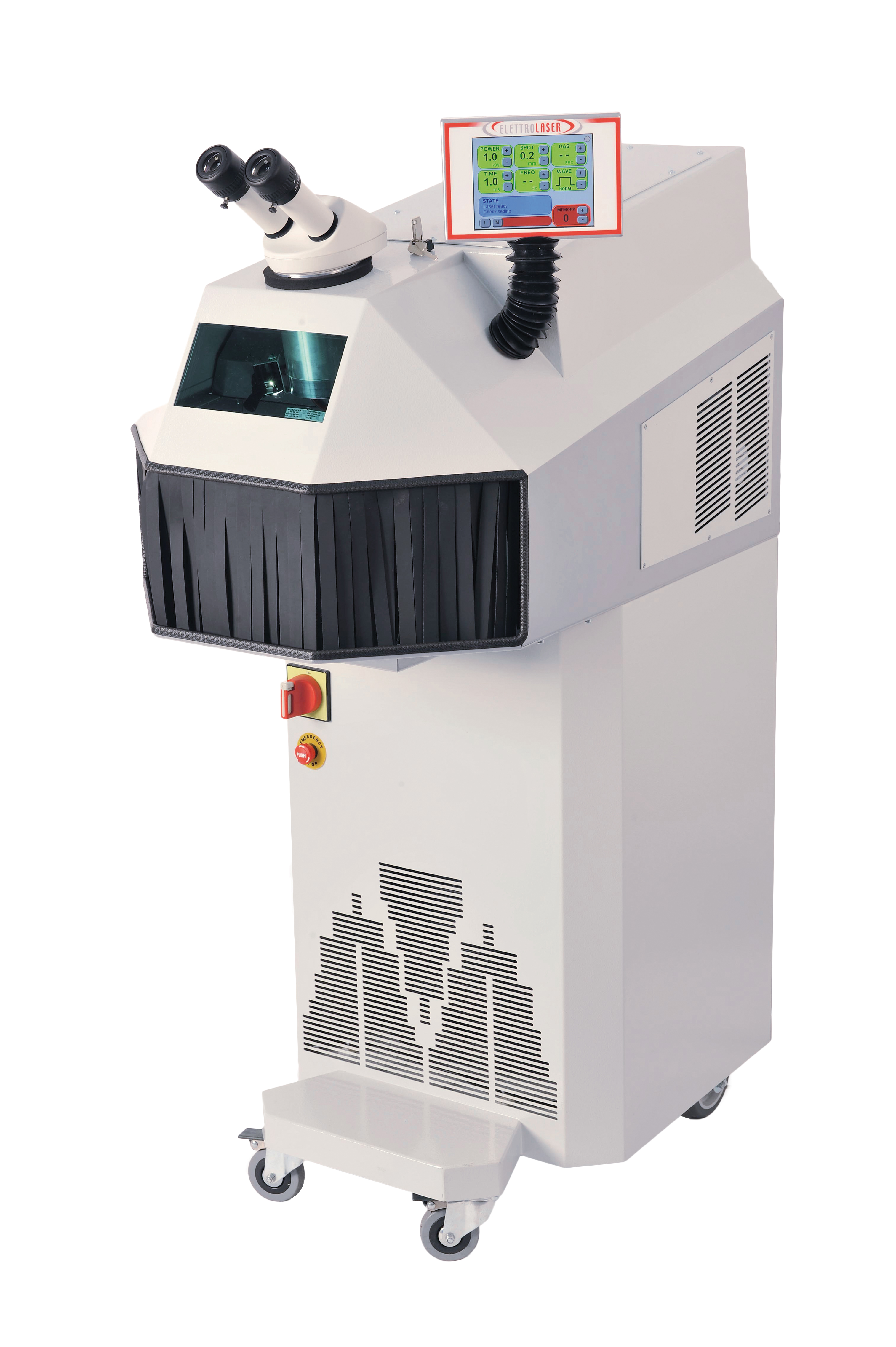 Kompakt-Schweißlaser Mega 200