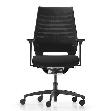Drehstuhl/ Bürostuhl X-Code mesh, schwarz