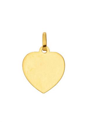 graveerplaatje goud 333/gg hart