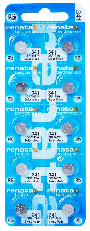 Renata 341 knoopcel multipack