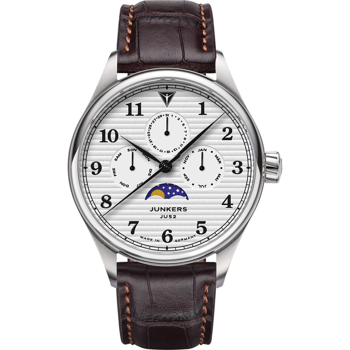 JUNKERS Quarz-Armbanduhr TANTE JU mit Mondphase