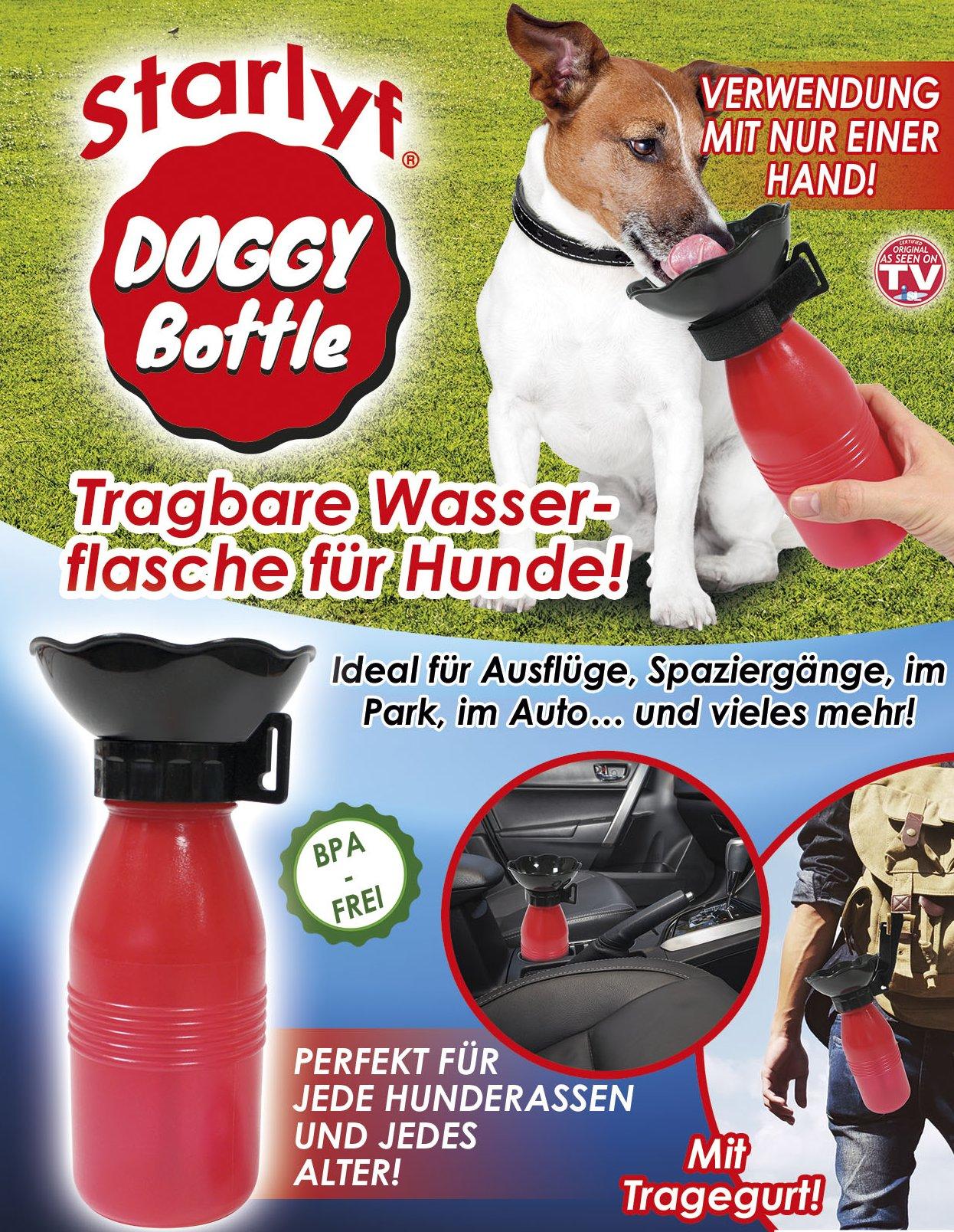 Doggy Bottle - die tragbare Wasserflasche für Ihren Hund