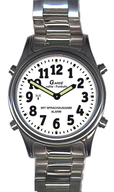 Uhren Manufaktur Ruhla - sprechende Funk-Armbanduhr
