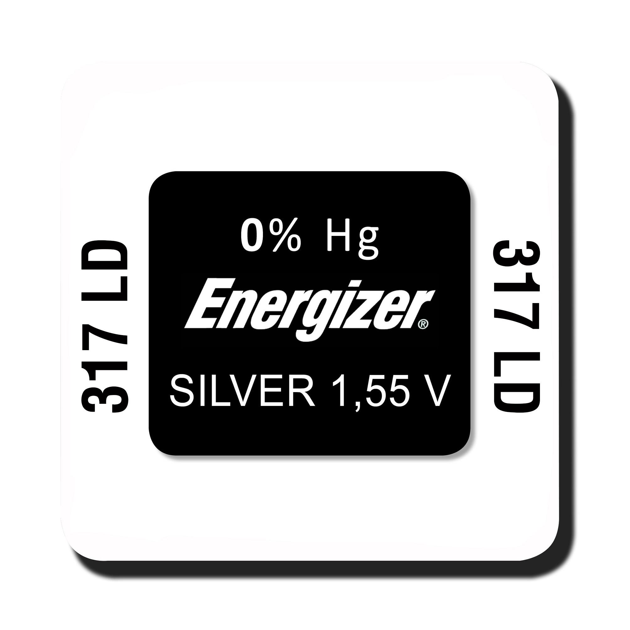 Energizer 317 knoopcel