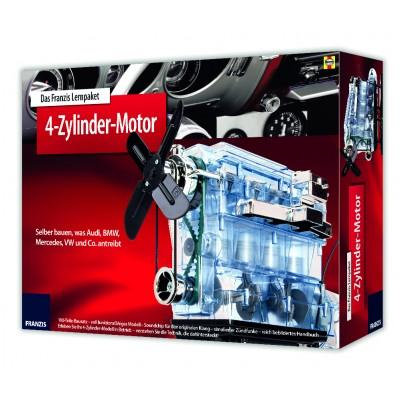 Bausatz 4-Zylinder-Motor