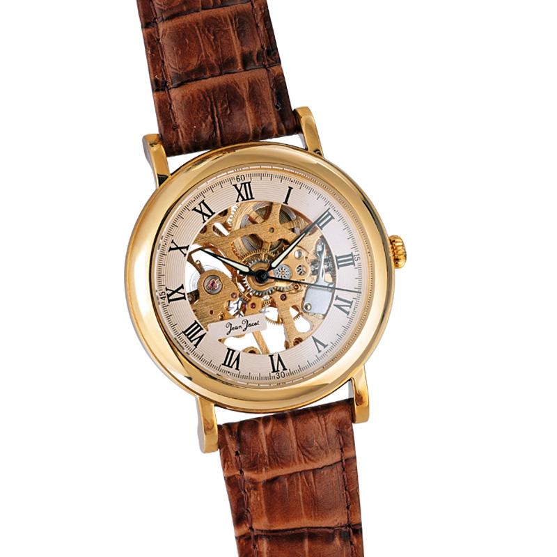 Jean Jacot Herren-Armbanduhr
