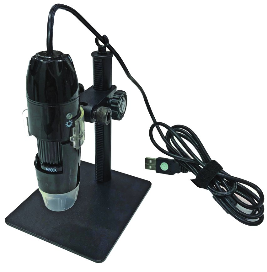 Digitales Hand-Mikroskop mit USB-Schnittstelle
