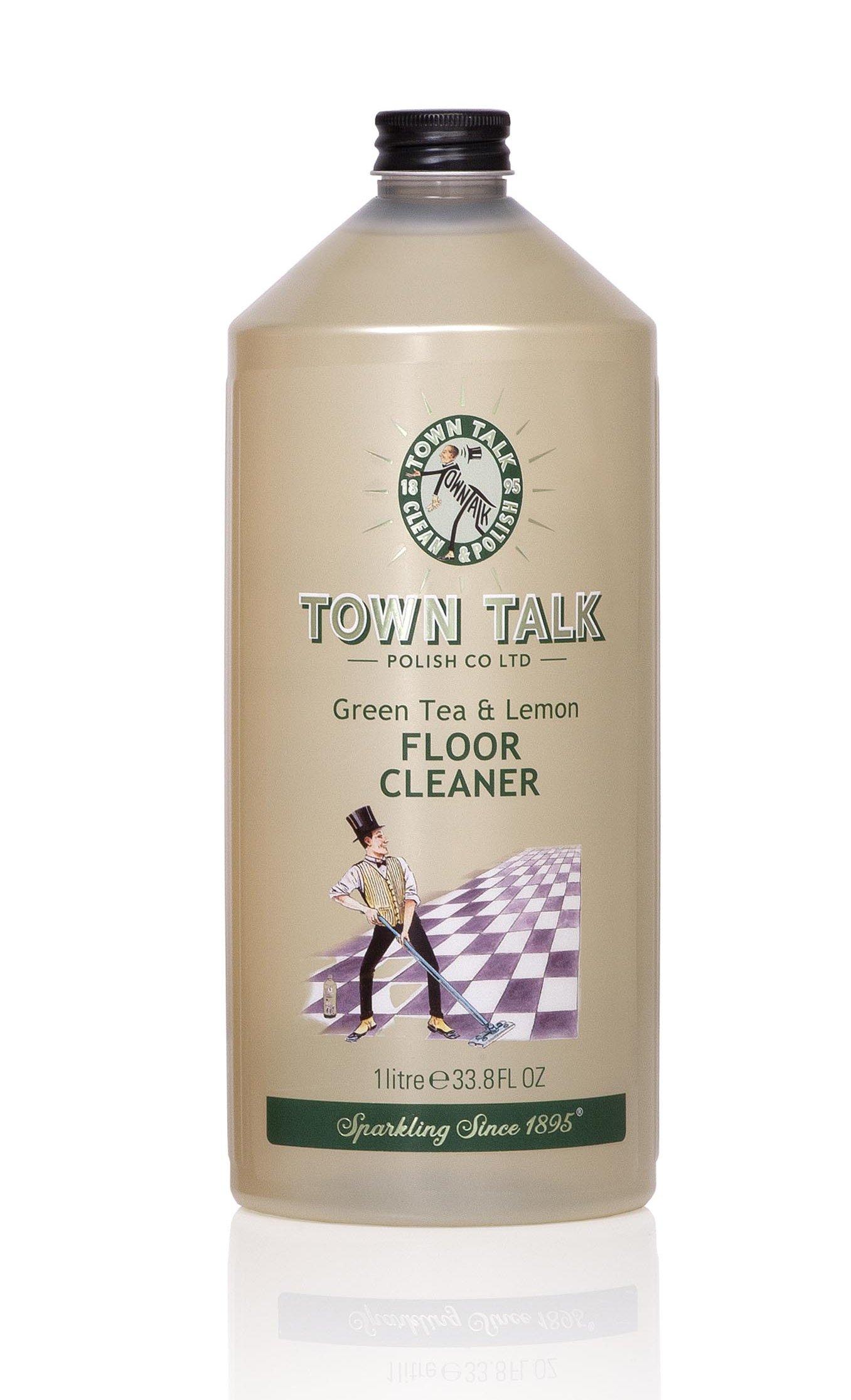 Mr Town Talk Bodenreiniger Green Tea and Lemon 1 Liter