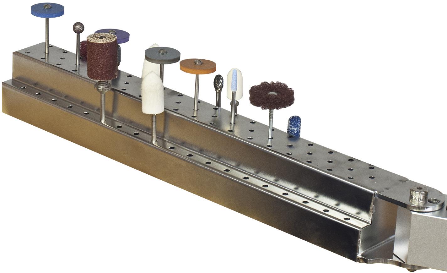 Houderarm voor 95 boren/frezen met steel 2,3 tot 3 mm
