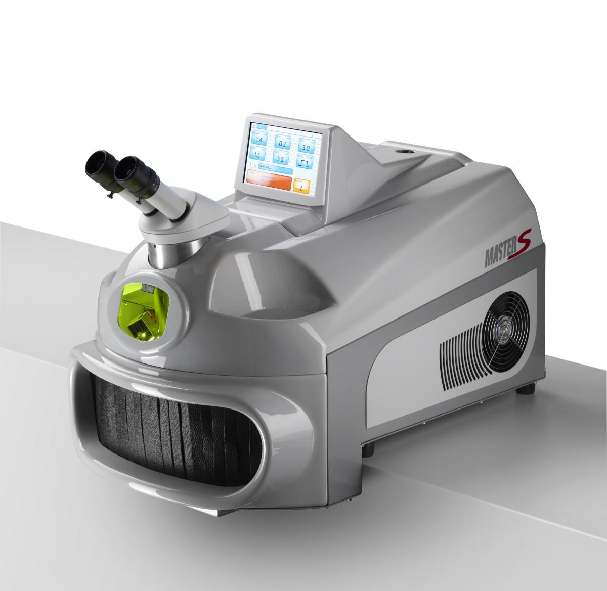 Kompakt-Schweißlaser Master S 100 mit Mikroskop