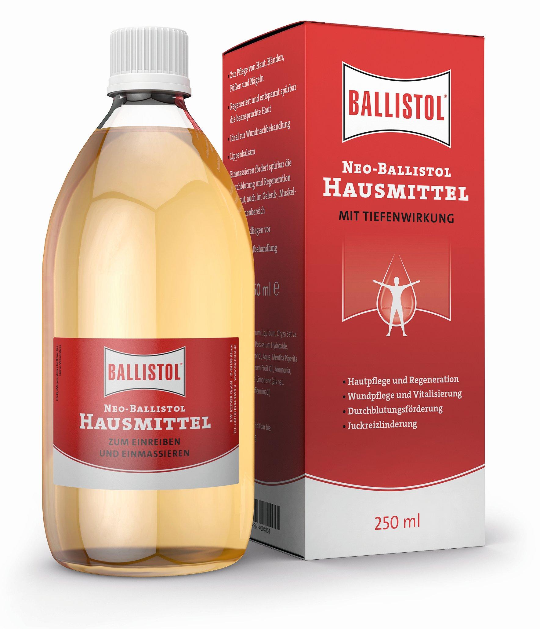 BALLISTOL huismiddeltje, 250 ml - De geheime tip onder huismiddeltjes