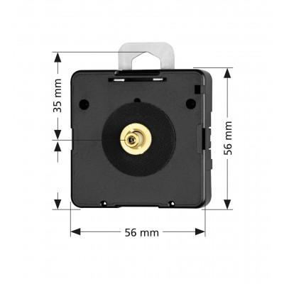 Kwarts achteruitloop uurwerk RG, Junghans 838, WWL 18,50mm