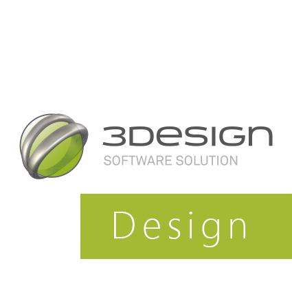 3DESIGN 3D CAD Software V10 Design-Version