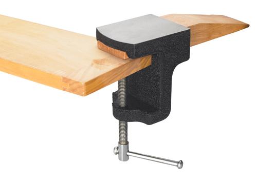 Feilnagel/ Amboss zum Befestigen am Werktisch