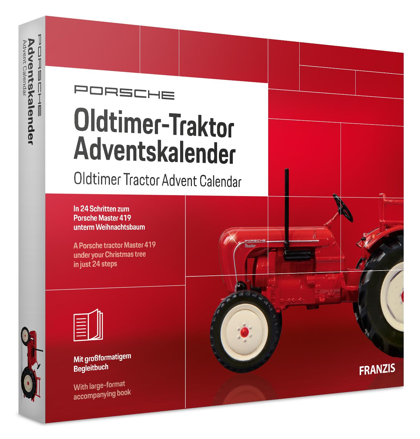 Adventskalender Oldtimer-Traktor