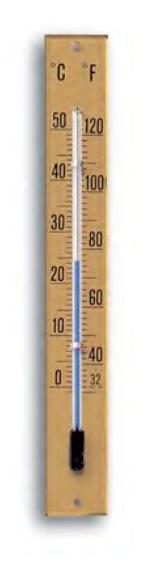 Aufschraubthermometer 170x20 mm