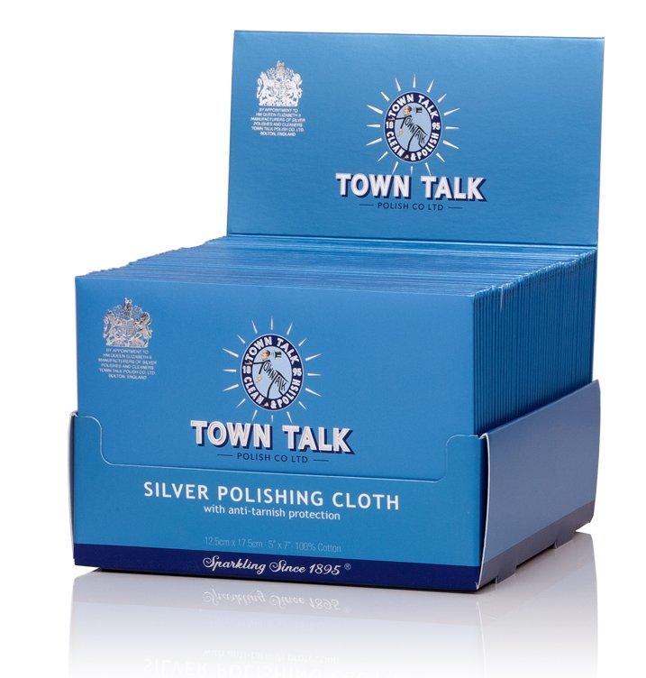 Mr Town Talk Silber Poliertuch 12,5 cm x 17,5 cm