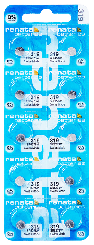 Renata 319 knoopcel multipack