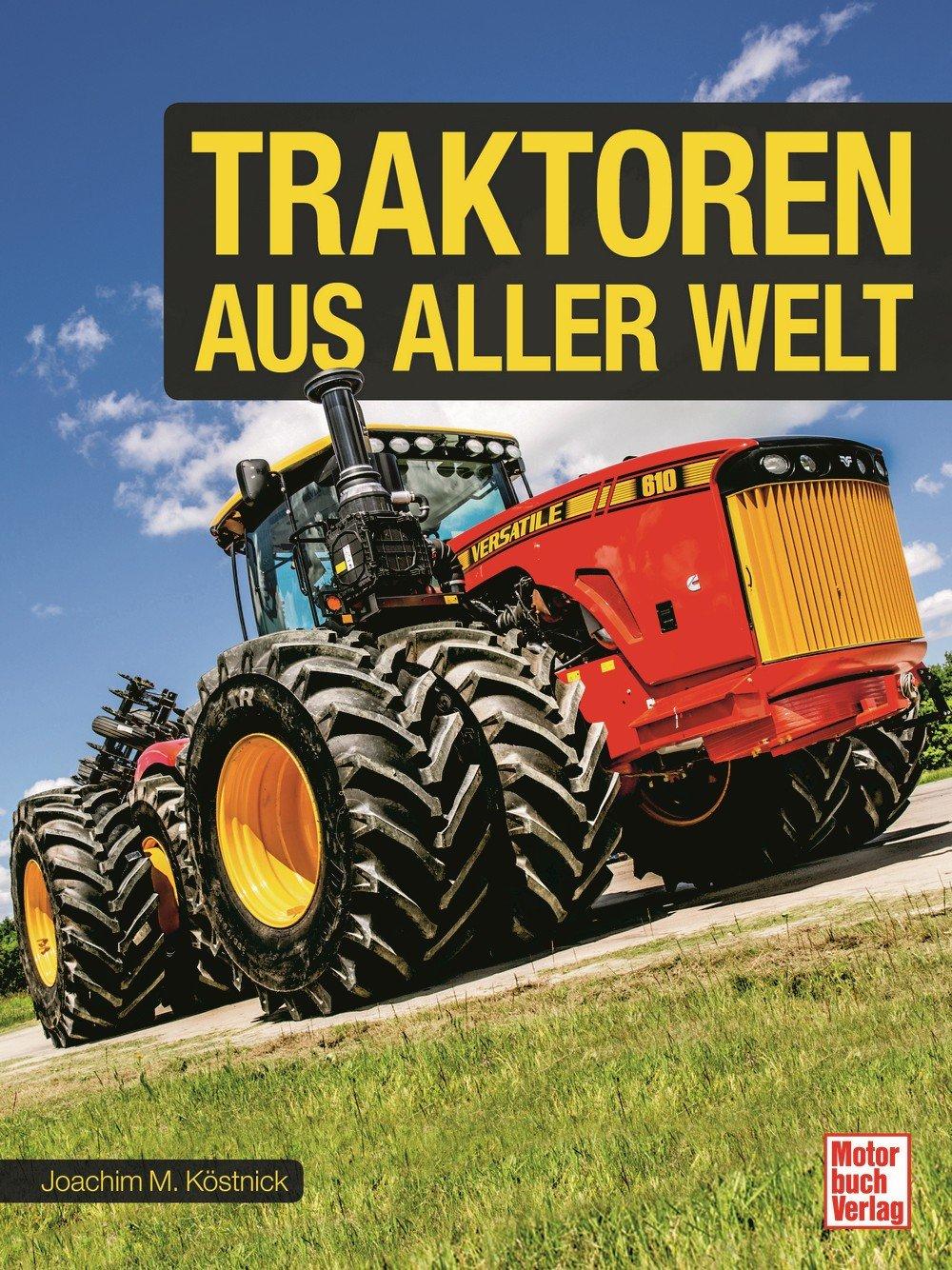 Boek: Traktoren aus aller Welt
