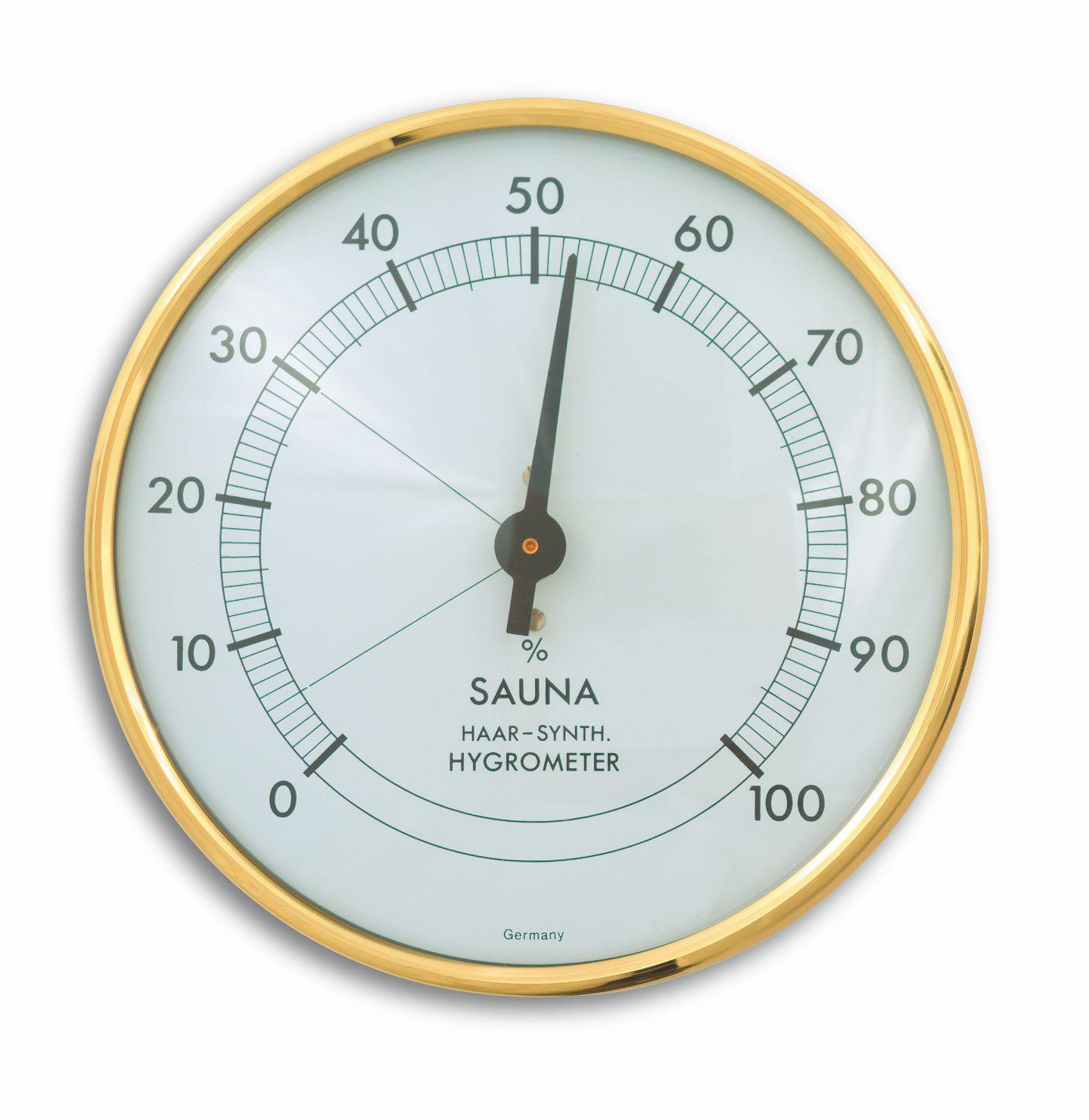 Sauna-Hygrometer, Ø 102mm