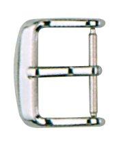 Dornschließe Edelstahl 16mm Stahl poliert