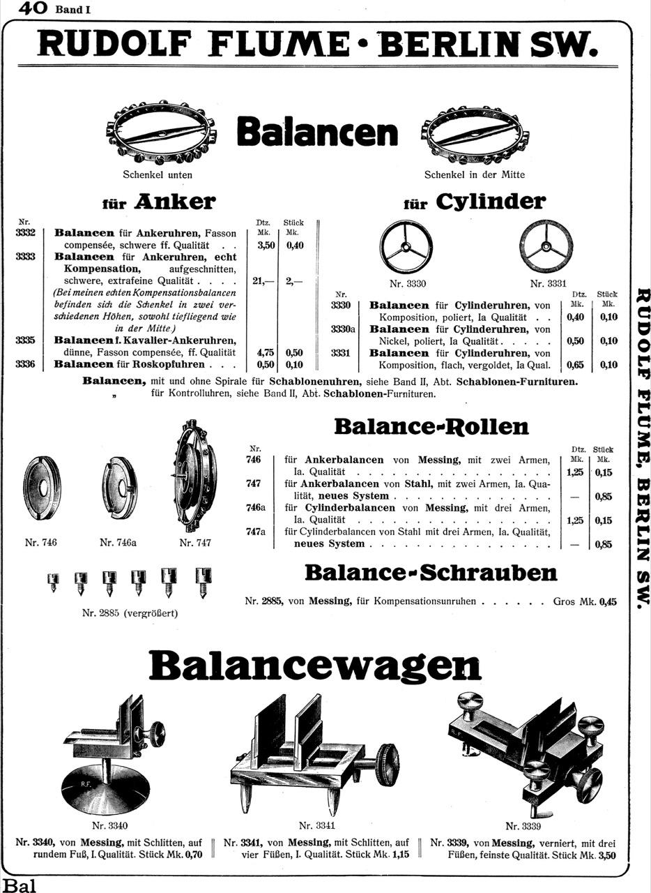 Reprint: Flume Jubiläumskatalog 1887-1912, Band I und II