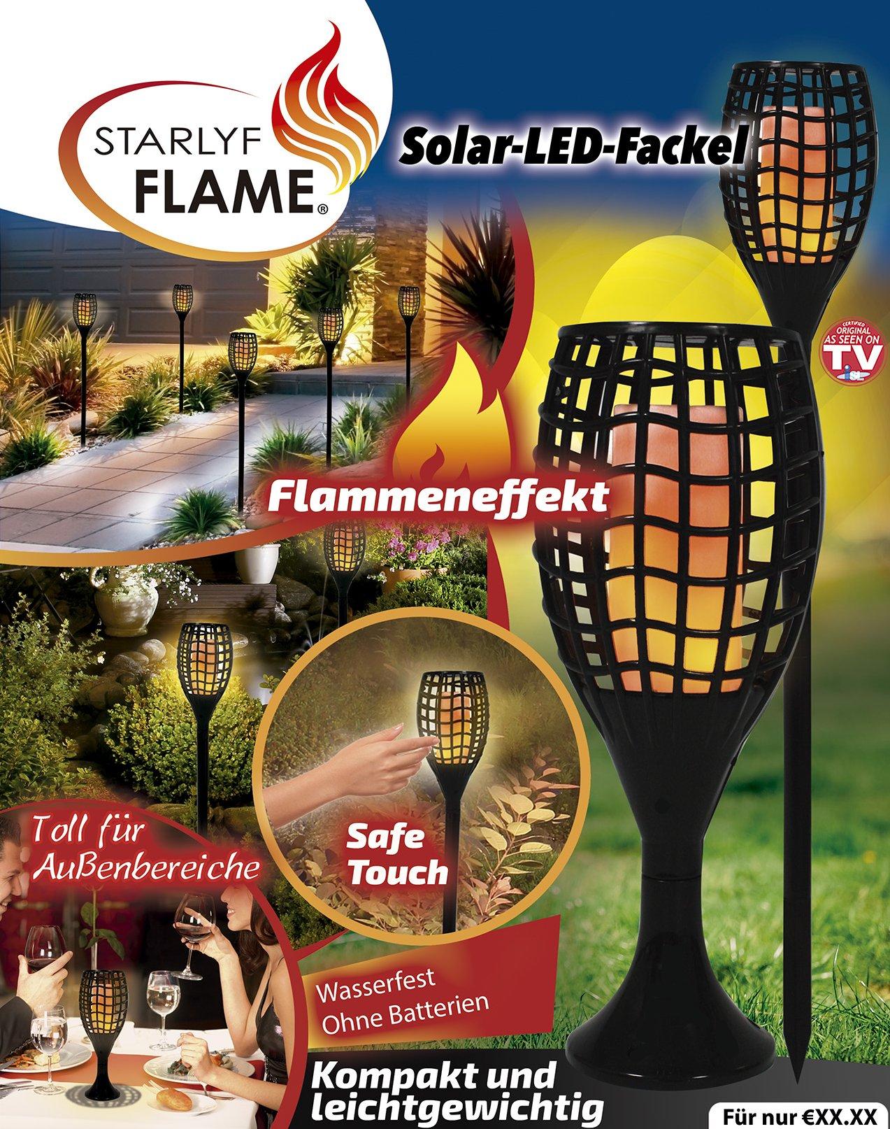 LED Lamp op zonne-energie - Sfeerlicht voor alle buitenruimtes