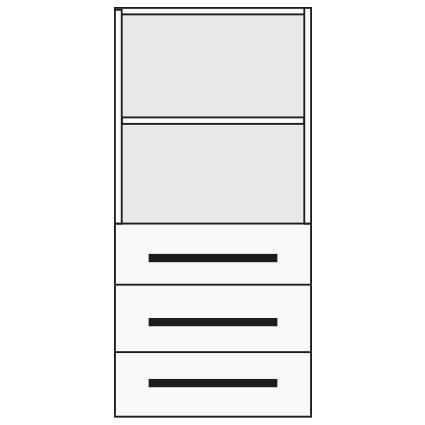Benchalist Container Nr. 10 für Einbau Druckluft-Verkabelung